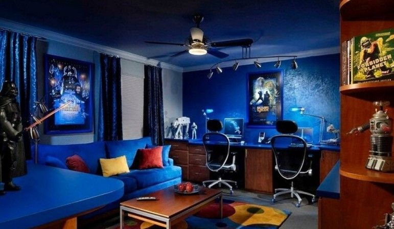 25 Interesting Game Room Ideas For Kids And Family Atahiya Small Game Rooms Game Room Design Entertainment Room Design