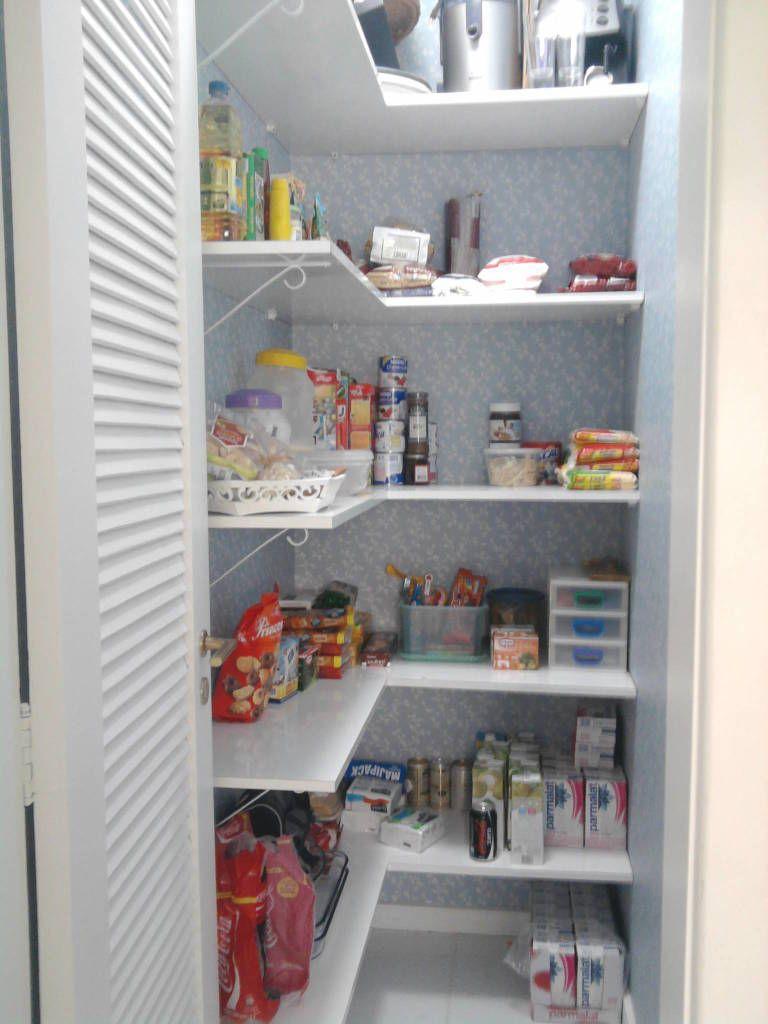 Despensa arruma o e organiza o kitchen pantry - Armarios para despensa ...