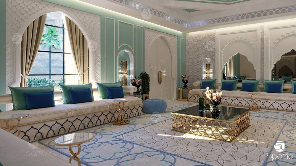 Arabic Majlis Interior Design In Dubai Uae 2020 Moroccan Style Interior Majlis Interior Design Interior Design Dubai Arabic living room decorating ideas