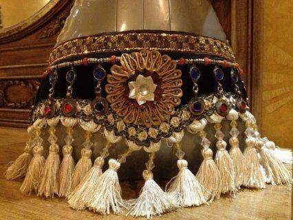antique vintage xl kuchi tribal deluxe ats fusion cowrey belt
