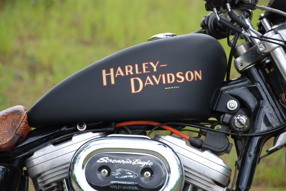 Old School Tank Logos The Sportster And Buell Motorcycle Forum Xlforum Com Harley Davidson Decals Harley Davidson Classic Harley Davidson