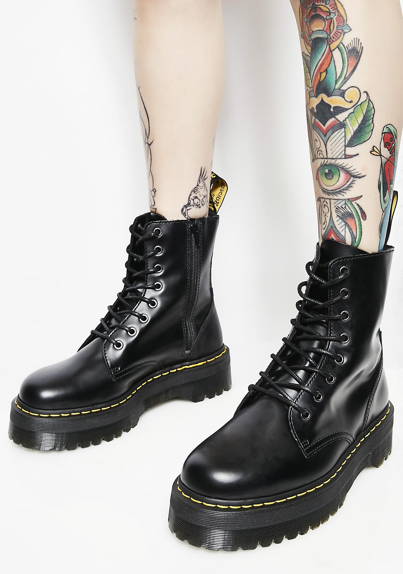 41391a509 Jadon 8 Eye Boots | Clothing Wishlist | Boots, Jungle boots, Dr martens
