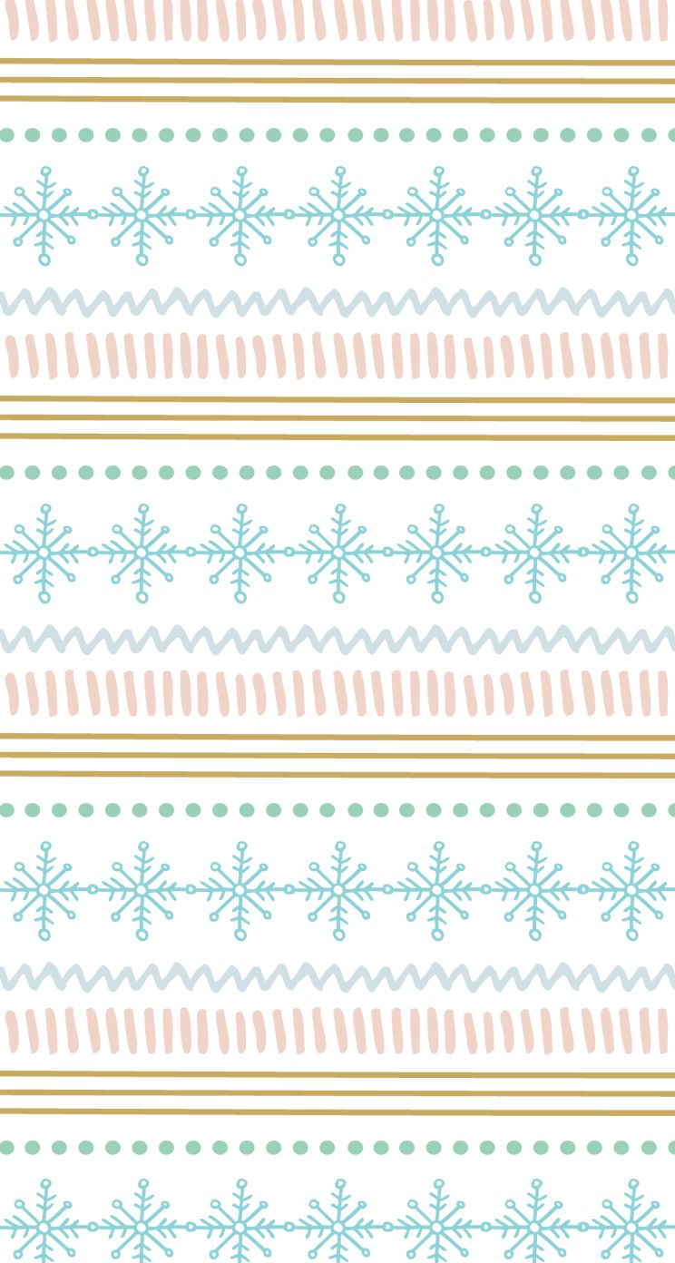 Winter Pattern Iphone Wallpaper Wallpaper Iphone Christmas