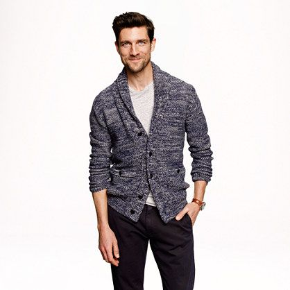 There is just something very cool about this sweater - J.Crew ...
