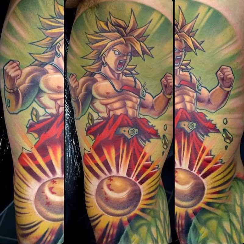 The Very Best Dragon Ball Z Tattoos Z Tattoo Anime Tattoos Japanese Dragon Tattoo Meaning