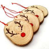 Personalized Rustic Christmas Reindeer Decoration Custom Christmas Gift Tags Personalized G Personalized Rustic Christmas Reindeer Decoration Custom Christmas Gift Tags P...