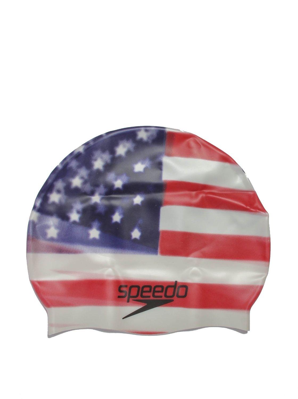 Speedo - Bonnet de natation en silicone - adulte - unisexe - USA - Taille  unique 9a1669e3f536