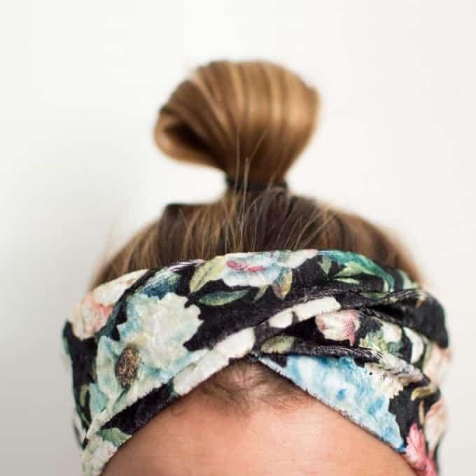 Tutorial von Jojolino: Haarband mit Drehung – nähRatgeber