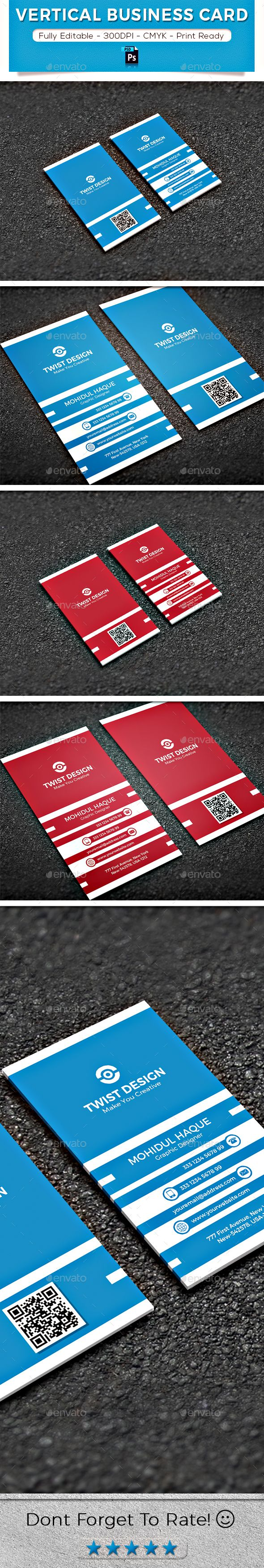 Vertical business card vertical business cards business cards and vertical business card corporate business cards download here httpsgraphicriveritemvertical business card19935516refalena994 reheart Choice Image