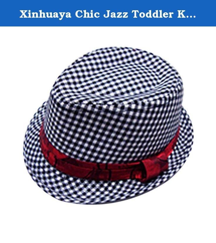 23969cead7b Xinhuaya Chic Jazz Toddler Kids Baby Boy Girl Cap Cool Photography Fedora  Hat F2. Xinhuaya