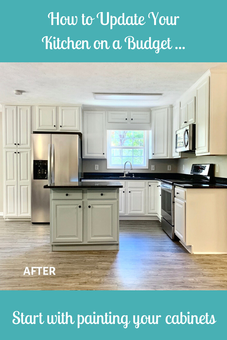 How To Update Your Kitchen On A Budget In 2020 Kitchen On A Budget Kitchen Cabinets Painting Kitchen Cabinets