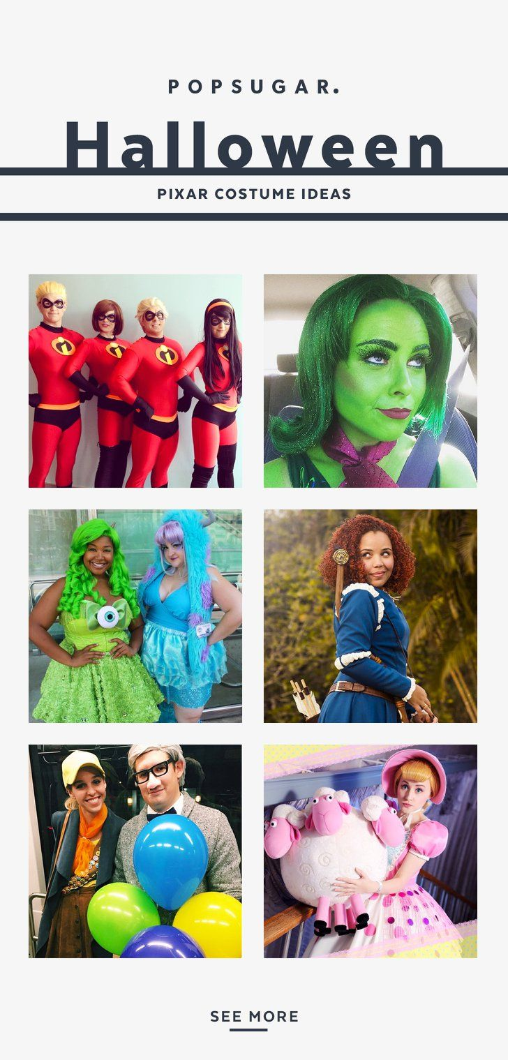 35+ Pixar Costumes to Make Your Halloween Bright and Terrific  sc 1 st  Pinterest & 35+ Pixar Costumes to Make Your Halloween Bright and Terrific ...
