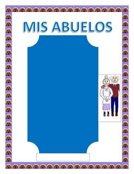 This exciting lessons objective is the perfect tool to celebrate Grandparents Day in your classroom. You will be able to review colors, physical characteristics and adjectives. It is a great tool to have students describe their grandfather and grandmother physically, their personality and practice Tiene and Es statements.