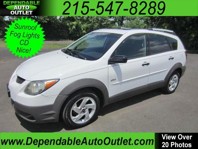 Used 2003 Pontiac Vibe For Sale In Philadelphia Pa 19030