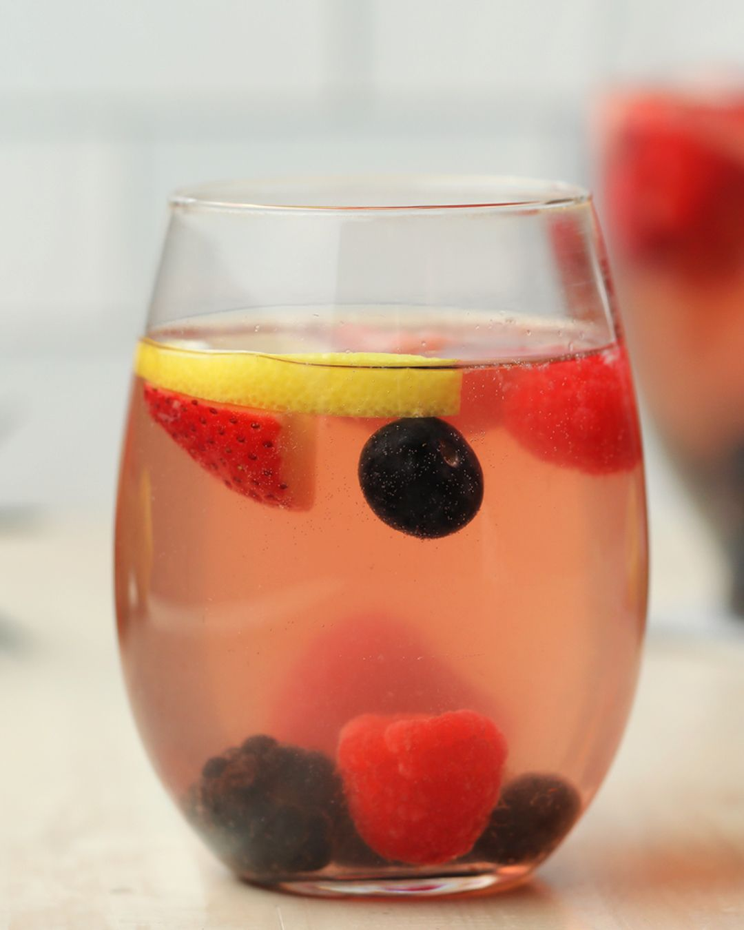 Berry And Rose Summer Sangria In 2020 Summer Sangria Summer Sangria Recipes Alcohol Drink Recipes