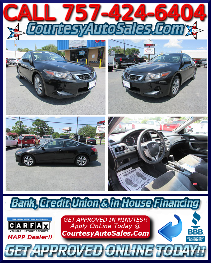 Courtesy Auto Sales >> 2010 Honda Accord Courtesy Auto Sales Has A Huge Selection Of Clean