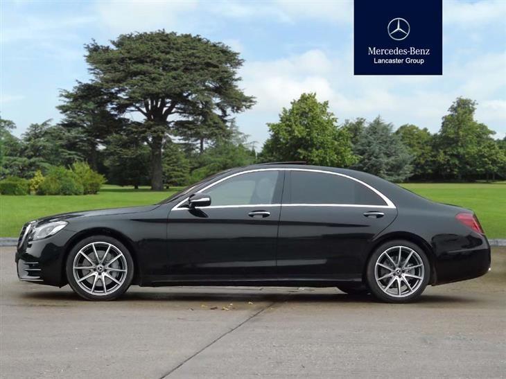 Used 2018 MercedesBenz S Class S400d L AMG Line Premium