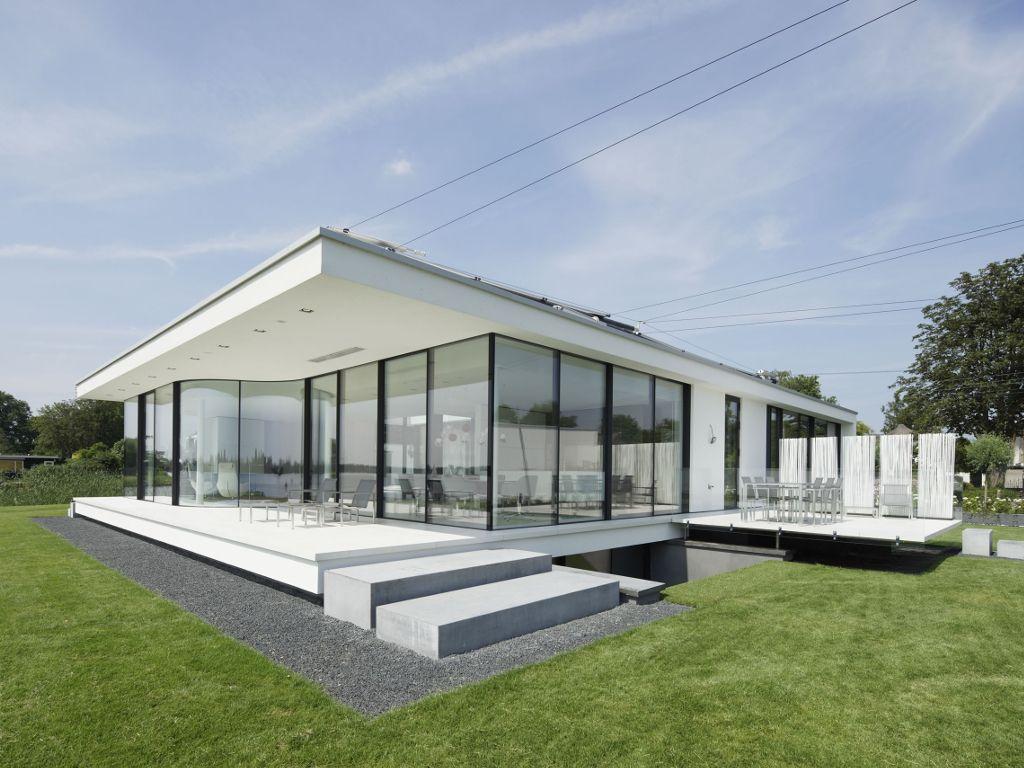 Pin von Bert Kamp auf Modern bungalows | Pinterest