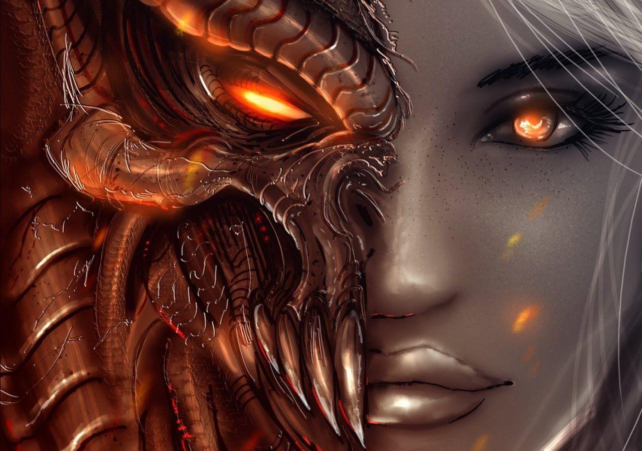 Demonios vienen a la tierra en forma Humana y viven entre los ...