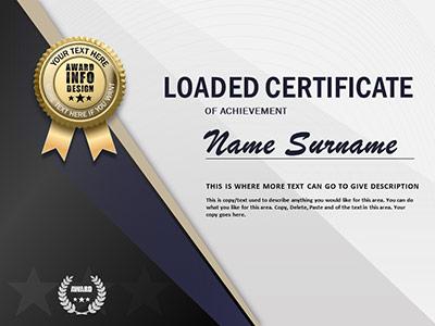 Powerpoint Award Certificate Template 5 Templates Example Templates Example Certificate Templates Awards Certificates Template Free Certificate Templates
