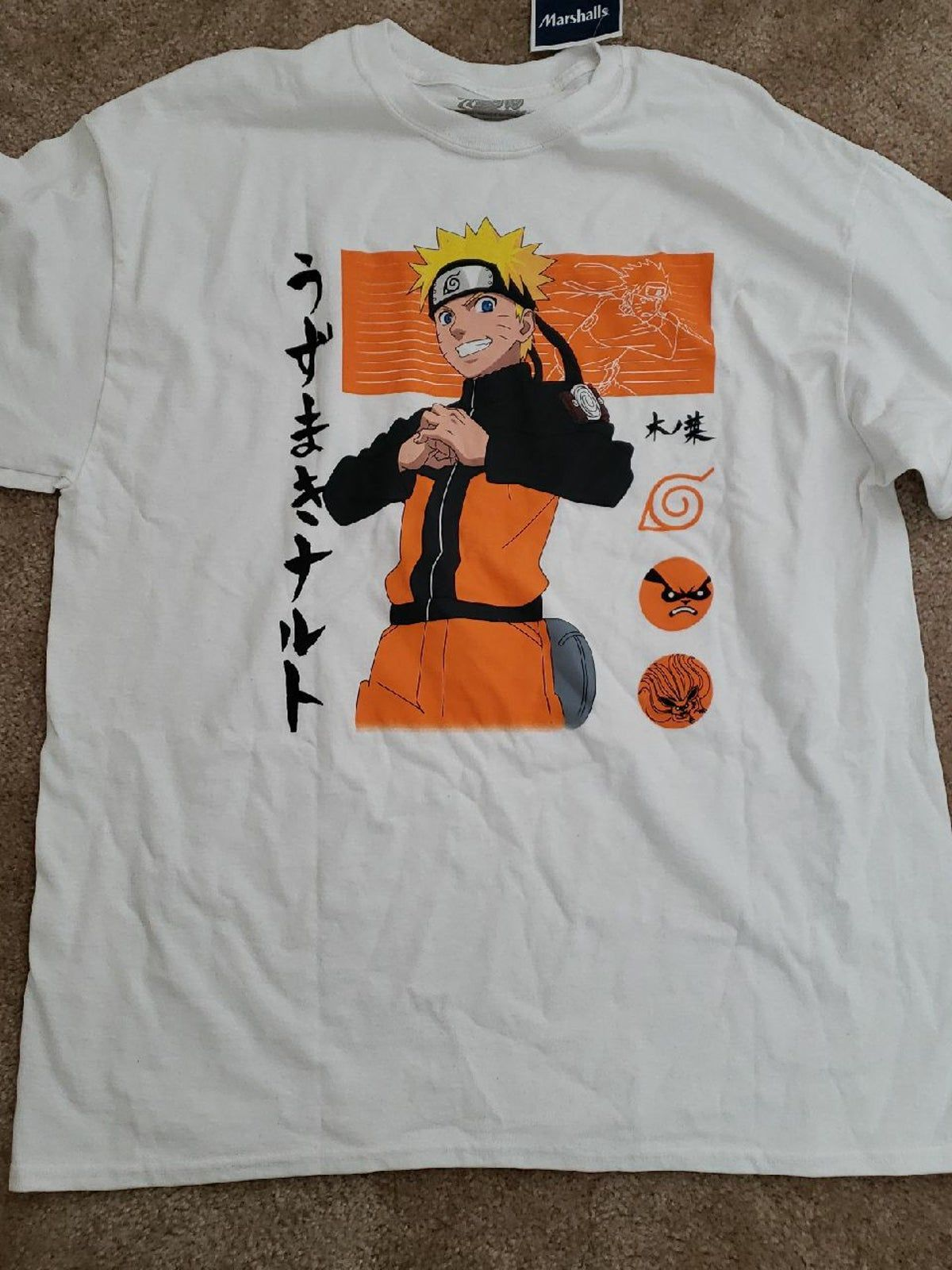 Naruto Shirt Xl Naruto Shirts Naruto Clothing Naruto T Shirt [ 1600 x 1200 Pixel ]