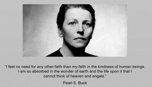 Pearl S Buck Woman Quotes Words Quotations