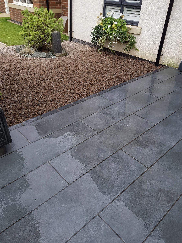outdoor porcelain paving slabs garden