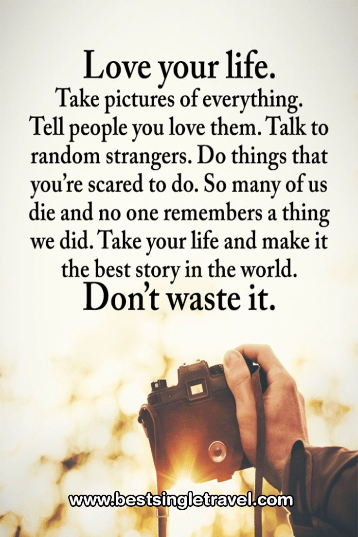 Love Your Life Positive Quotes Wisdom Quotes Inspirational Quotes
