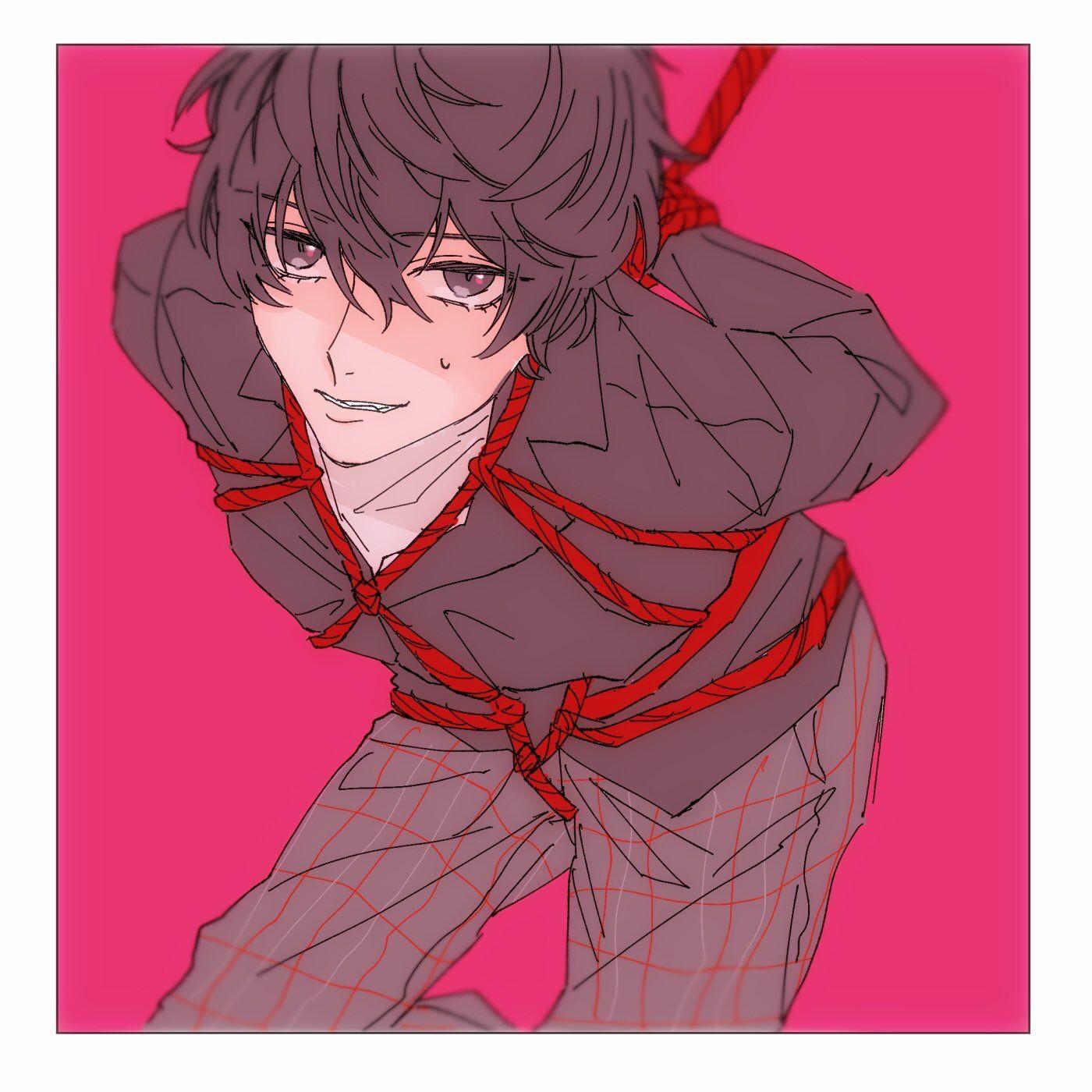 Ah Nao Ne Poha Persona 5 Anime Persona 5 Joker Akira Kurusu