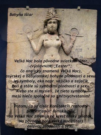 d849d0432b0d5 Veľká Noc bola pôvodne sviatkom bohyne Ištar   Goddess   Veľká noc