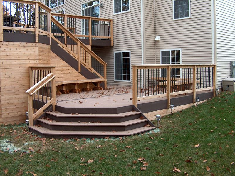 Best Deck Stairs Repinned By Normoe The Backyard Guy 1 400 x 300