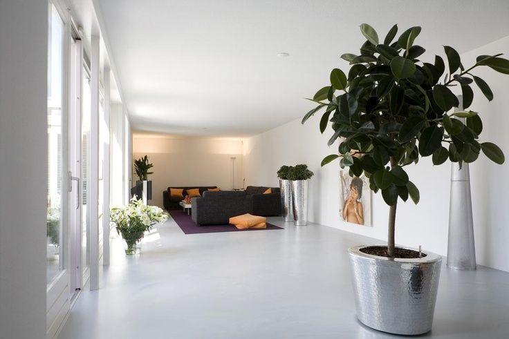 Modern interieur gietvloer the domp flooring