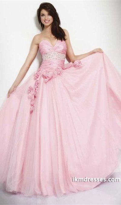 http://www.ikmdresses.com/2012-Collection-Sweetheart-A-Line-Tulle-Pink-Prom-Dresses-Under-200-p83482