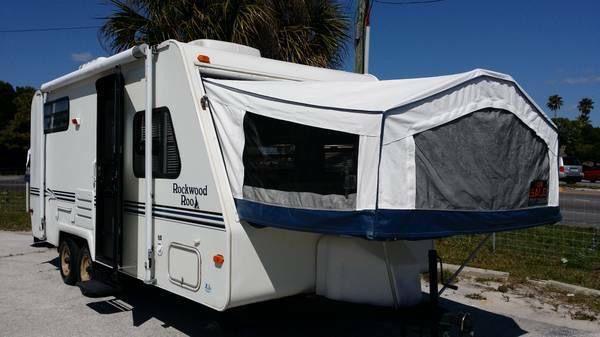 1999 Rockwood Roo Hybrid Camper Hybrid Travel Trailers