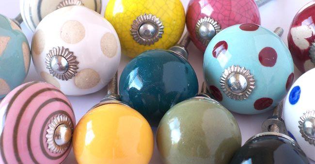 les boules bouton de meuble poignee