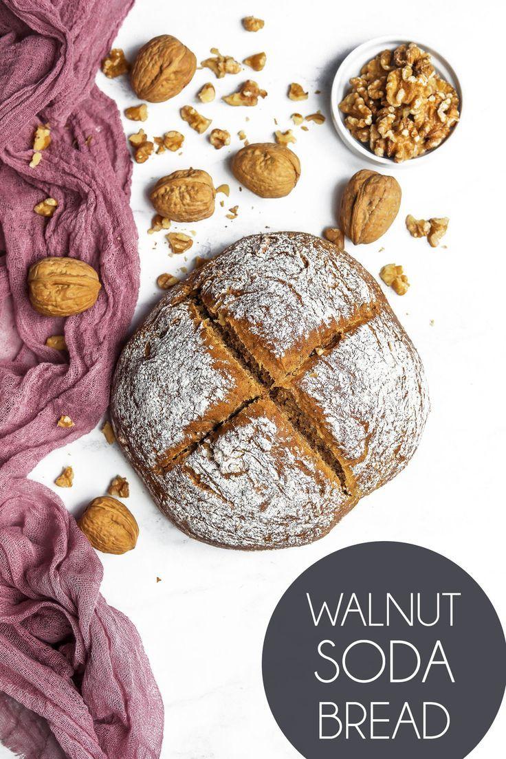 Vegan California Walnut Soda Bread Soda bread, Healthy