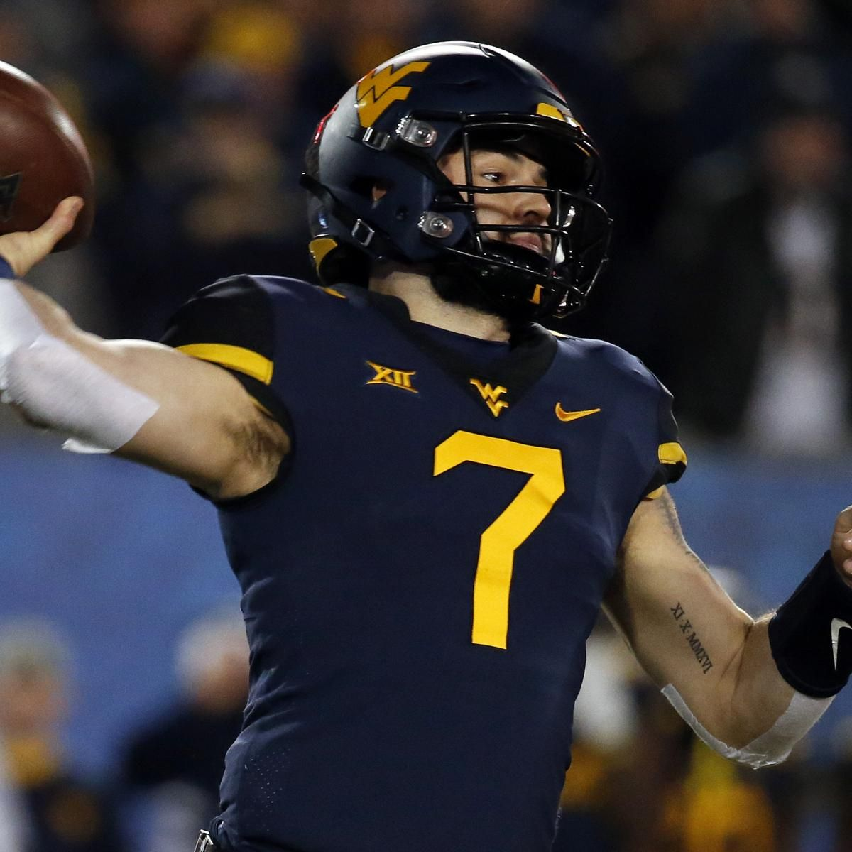 WVU QB Will Grier to Skip Camping World Bowl Game to