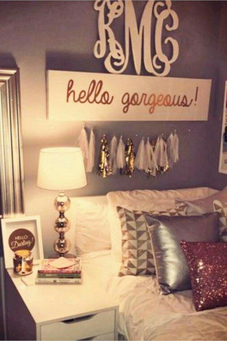 Schlafzimmerdesignideen Diy Love The Diy Decor In This Glamroom Schlafzimmer  Ideen Pinterest