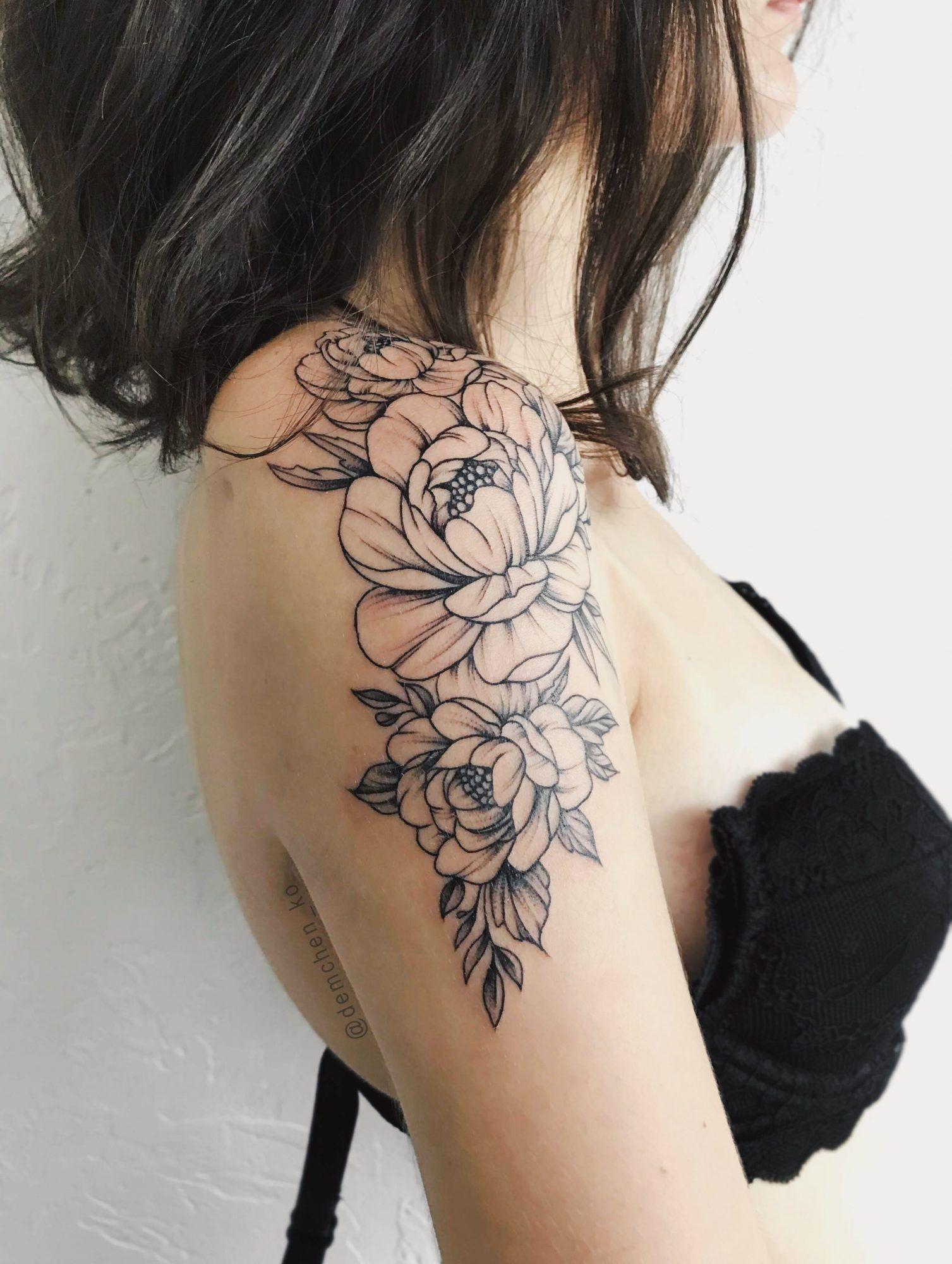Upper Arm Tattoo Designs For Women