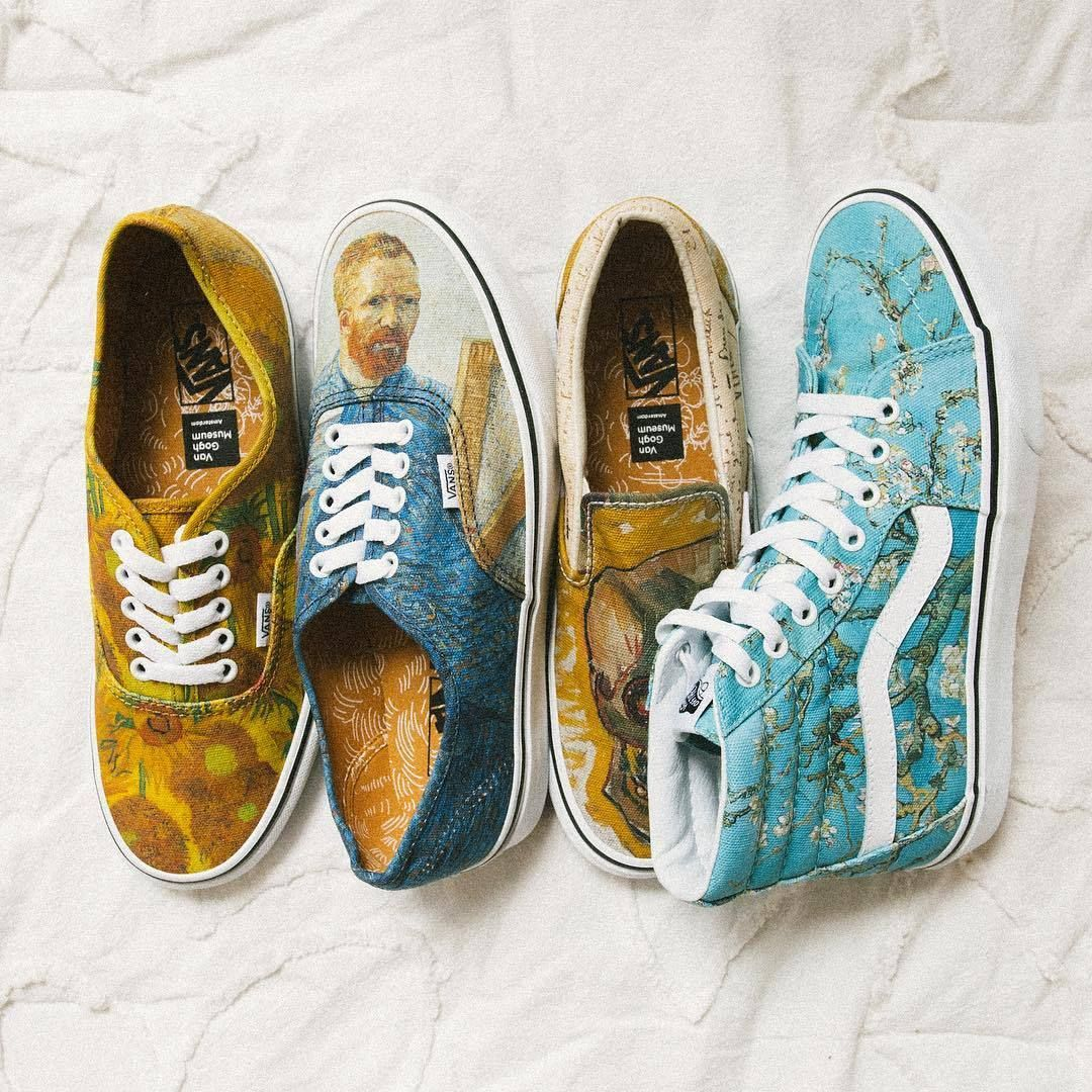 x Vincent Van Gogh Authentic | Shop | Jeans dipinti a mano