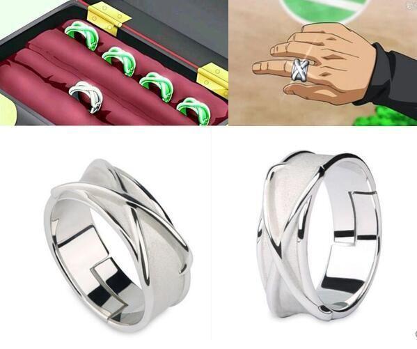 Preorder Super Dragon Ball Black Son Goku Gokou Time Finger Ring Cosplay Joyas Dragon Ball Dragones