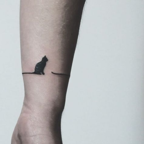 59 Cute Cat Tattoo Ideas And Inspiration Page 6 Of 59 Sciliy Cat Tattoo Small Cute Cat Tattoo Neck Tattoo