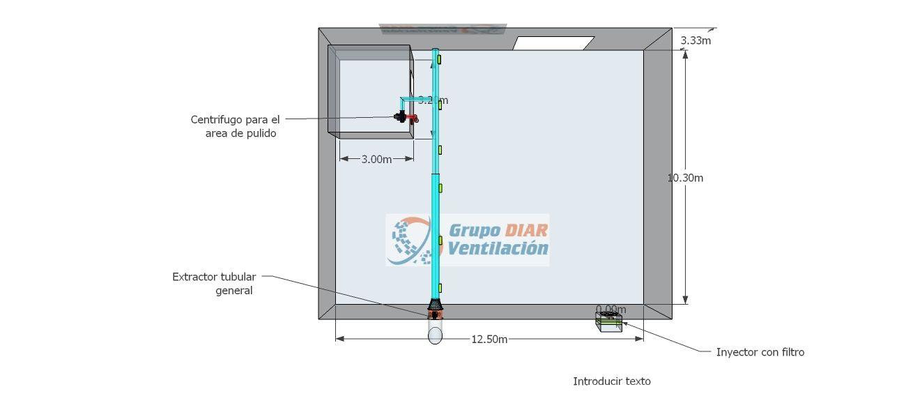 Extracci n de humos ventilaci n industrial locker - Extraccion de humos y ventilacion de cocinas ...