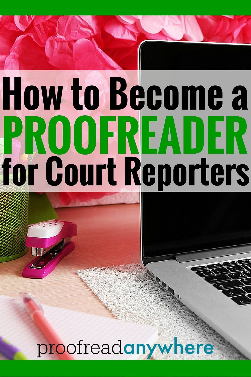 Intensive online training courses in proofreading