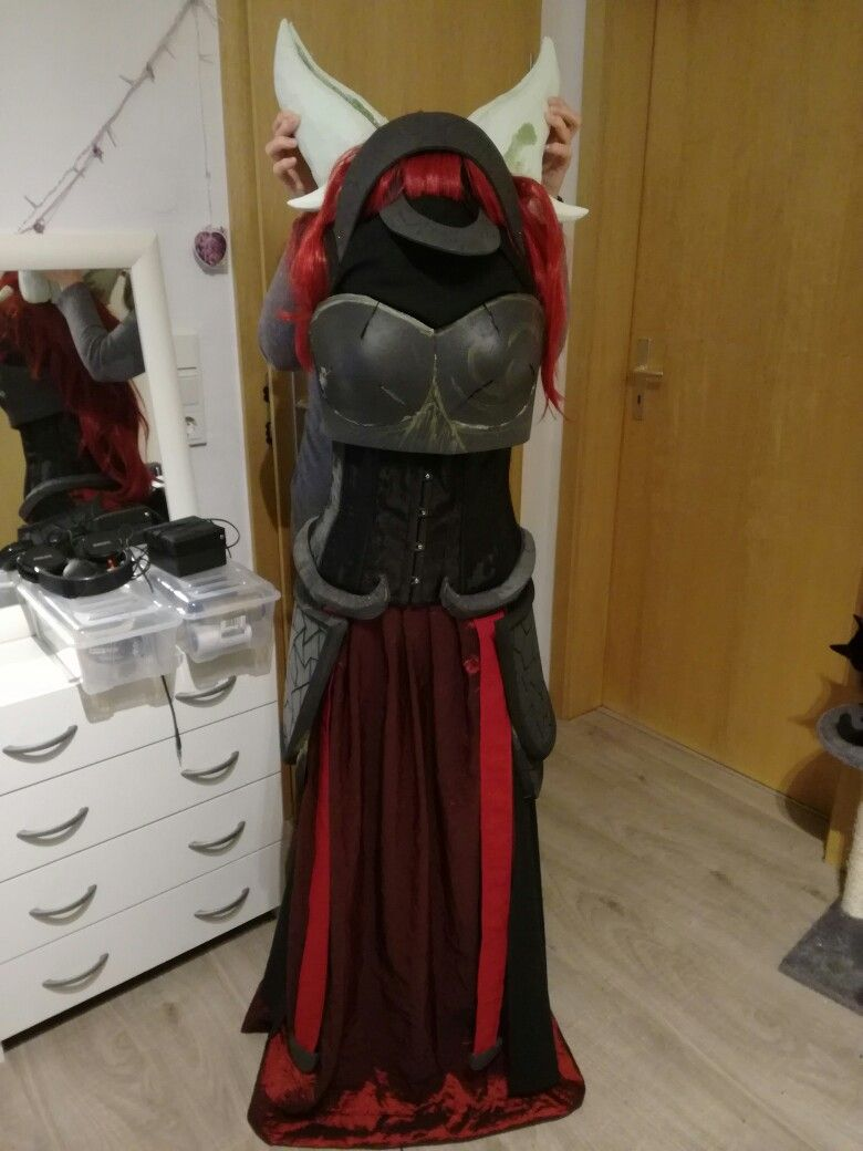 Alexstrazsa Cosplay armor, horns and skirt progress! | Alexstrazsa ...