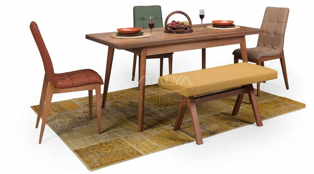 kansas bencli masa sandalye takimi sandalye mobilya fikirleri masa