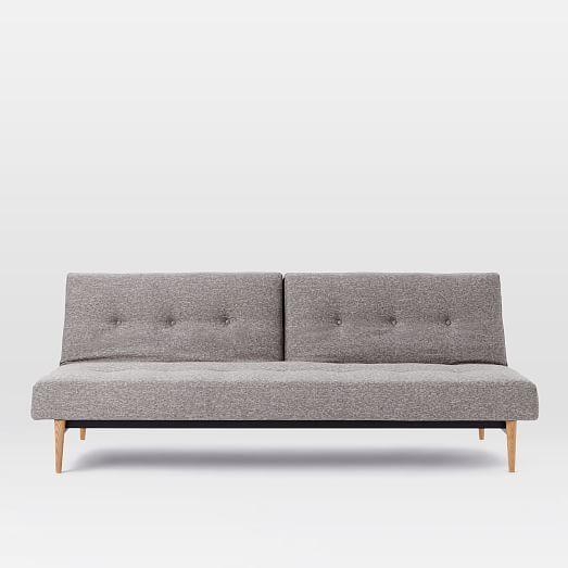 Mid Century Full Futon Sofa 82