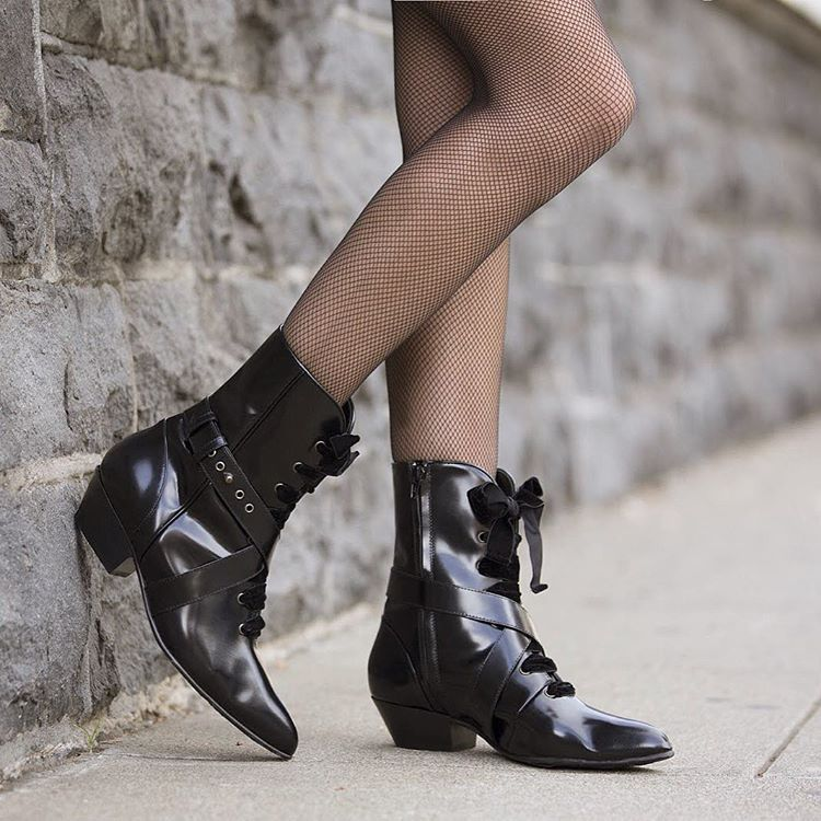 Shop the Black Patent Leather Boots