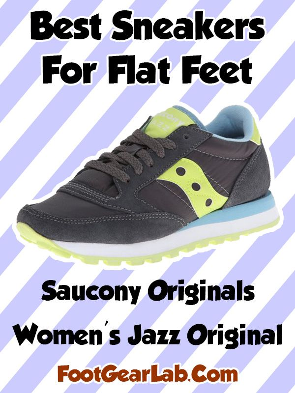 Saucony Originals Women s Jazz Original - Best Sneakers For Flat Feet Women  -  footgearlab 6d06c625022a