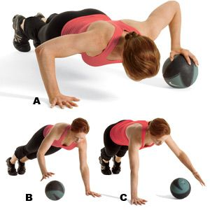 5 Killer Medicine Ball Exercises - Use these at least once a week to spike your metabolism and break plateaus.